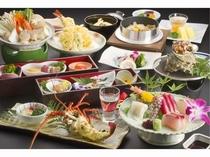 和食懐石季節により内容は異なります