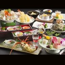 *【和食会席(一例)】旬の食材を用いた料理の数々をご提供いたします。