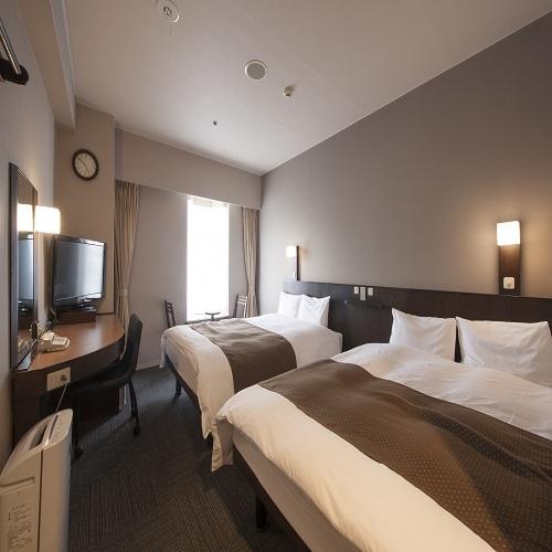 ◆ツインルーム 19m2 ベッドサイズ140cm200cm