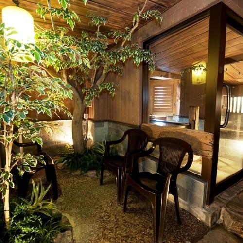 ◆男性大浴場【休憩スペース】