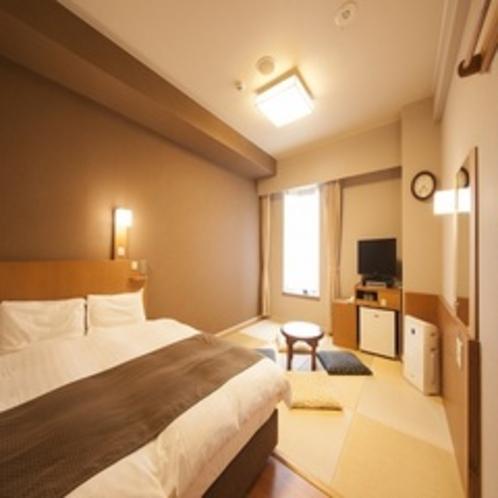 ◆和洋室 19㎡ ベッドサイズ160cm×200cm