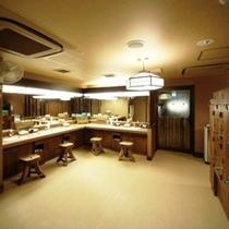 ◆男性大浴場【脱衣室】