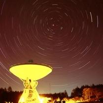 星空観察会を実施しています☆毎晩20:00~はスタッフがご案内しています。無料参加