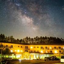 グレイスホテルと天の川★