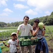 笑顔あふれるグレイス農園収穫体験♪