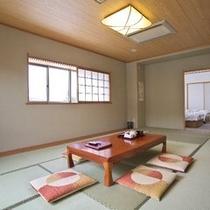 【新館・和洋室】和室12畳+洋室(ツインベッド)