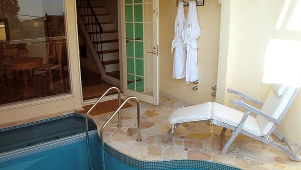 プール&露天風呂付客室 地中海スイート23号室