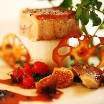 ■夕食IMAGE[イベリコ豚のソテー1]