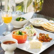 ■朝食IMAGE[有機野菜のパンキッシュ他1]
