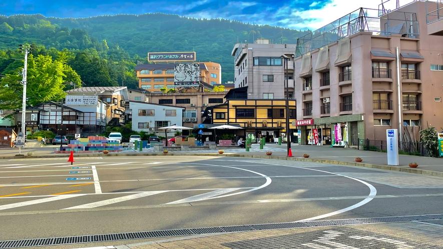 【駅からの御案内】越後湯沢駅からホテルまでの道順 その4