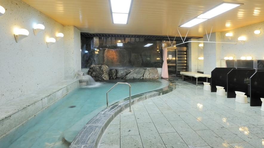 「男性大浴場:若草の湯」※当面の間営業休止。