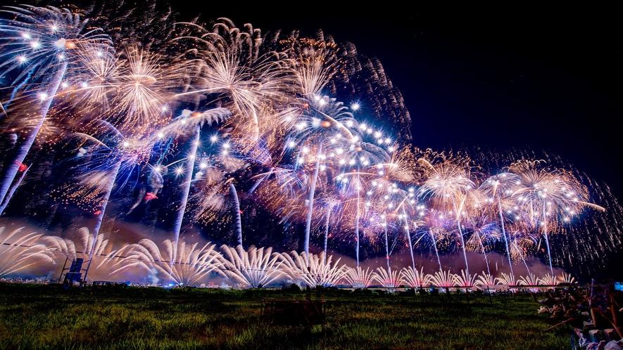 日本三大花火の一つ「長岡花火」