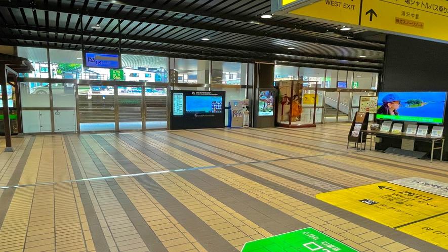 【駅からの御案内】越後湯沢駅からホテルまでの道順 その3