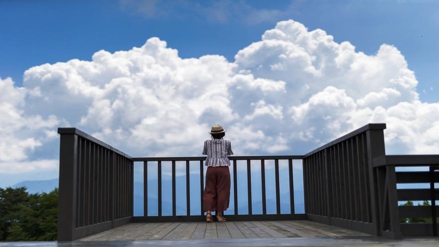 湯沢高原アルプの里 雲の上のテラス