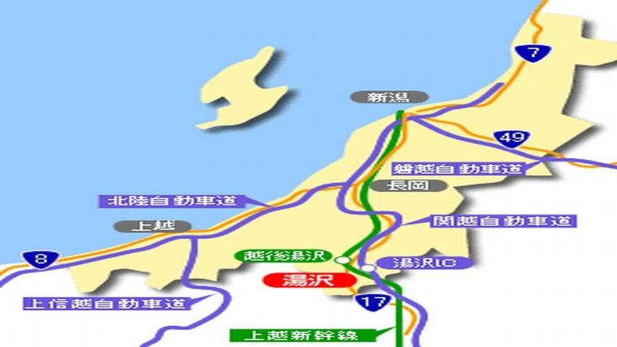 新潟県内図