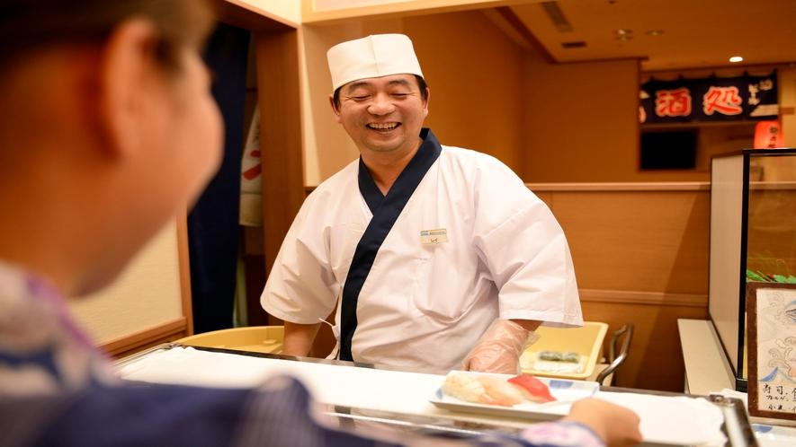 【和洋中バイキング(夕食)】握り寿司