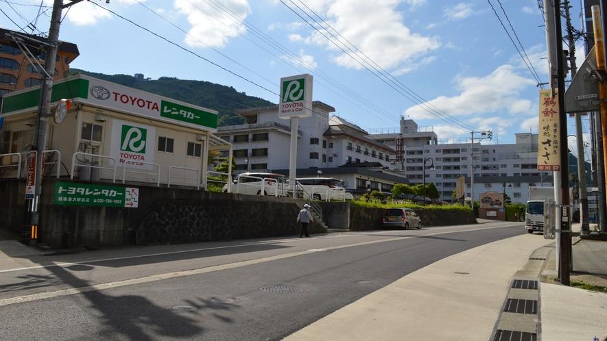 【駅からの御案内】越後湯沢駅からホテルまでの道順 その6
