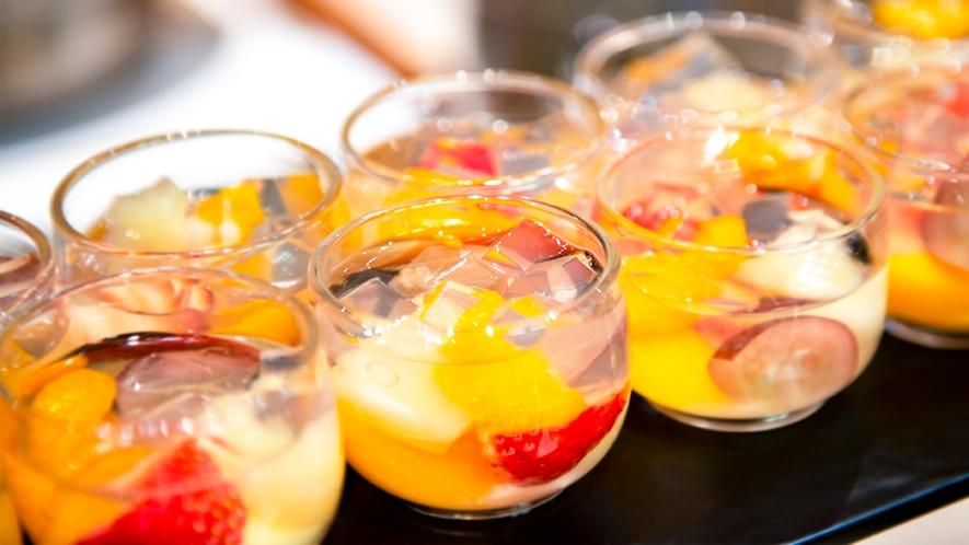 【和洋中バイキング(夕食)】デザート一例