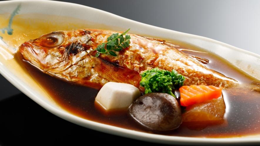 【別注料理:地魚の姿煮】