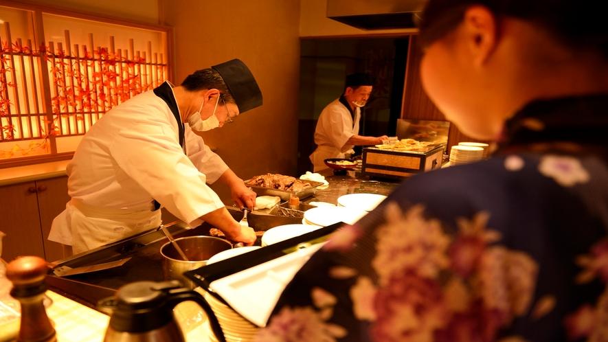 【和洋中バイキング(夕食)】ライブキッチン