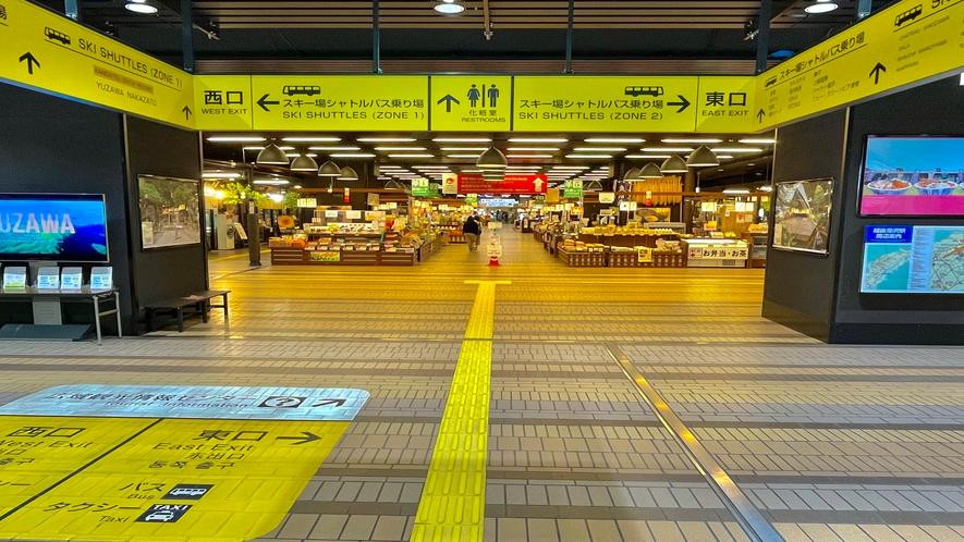【駅からの御案内】越後湯沢駅からホテルまでの道順 その2