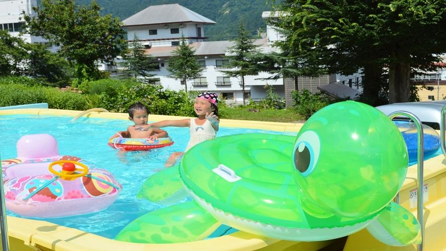 【夏休み限定】幼児用プール