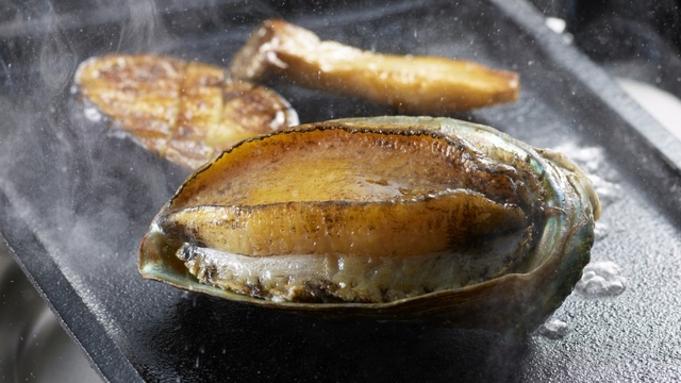 【あわび、車海老、地魚刺盛りとあわび蒸し焼き】と ごちそうビュッフェ【限定20食】