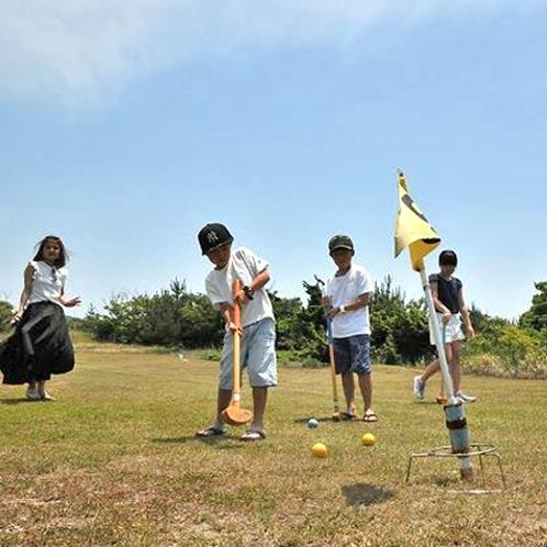 グラウンドゴルフは家族みんなで盛り上がれます