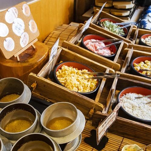 【半島の旬菜ビュッフェ】人気の釜飯ビュッフェ