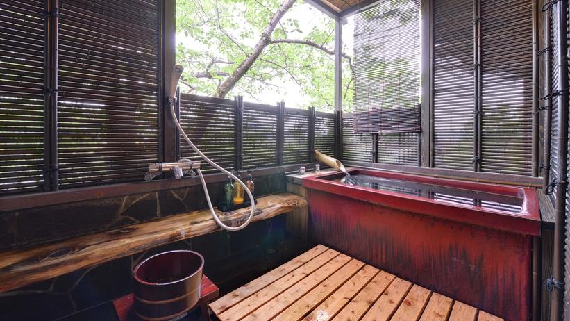 *★露天風呂付特別室〜春は桜がとても綺麗。贅沢な景色をゆったり独り占め・・・〜