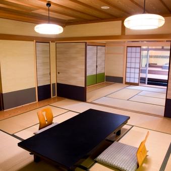 露天風呂付特別室   高見 和室12畳+10畳