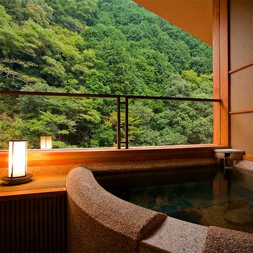 3階半露天風呂付 新 特別室~半露天風呂~