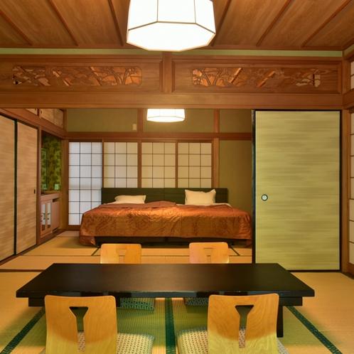 露天風呂付き特別室「山 水」