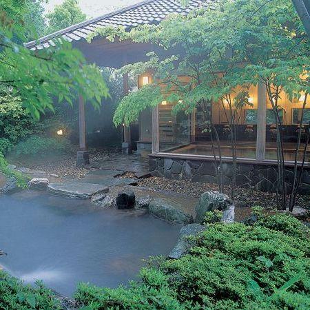 露天風呂 緑