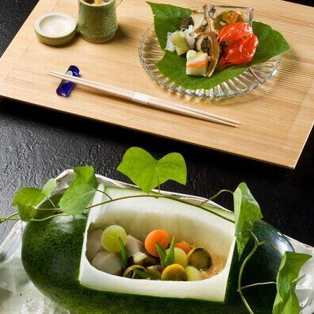 夏の夕食イメージ
