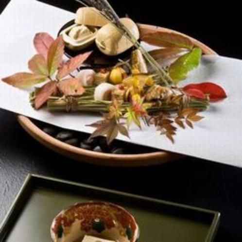 秋の夕食イメージ