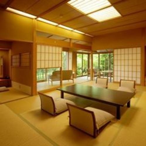 1階露天風呂付き客室【早蕨】 客室