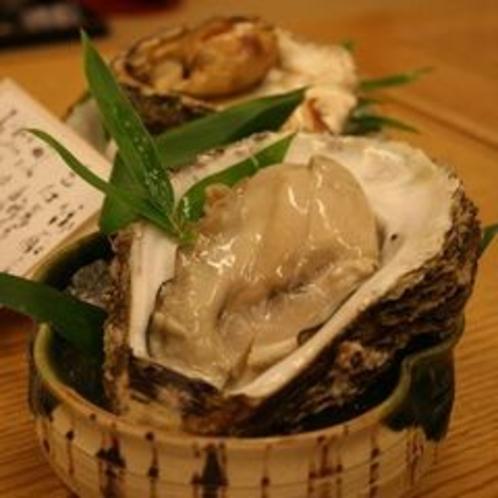 生牡蠣・焼牡蠣