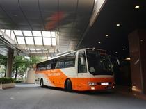 リムジンバス正面玄関