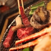 炭火焼 アップお肉イメージ