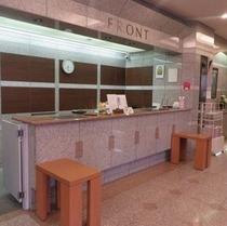 ◆フロント◆フロントカウンターは24時間対応しています