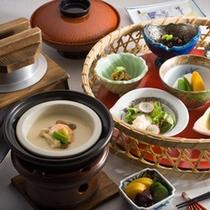 純和風の朝食。木更津名物のアサリを使ったお味噌汁は絶品です。