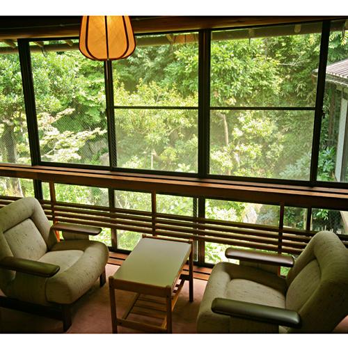 ■庭を見下ろすお部屋【1名〜3名まで】
