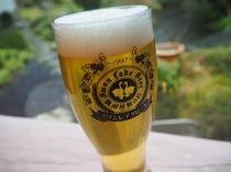 スワンレイクビールの生ビール1杯¥870(税込み)