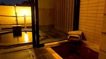鳳凰標準室/源泉露天風呂・内風呂一例