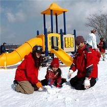 ハンターマウンテン塩原で雪遊び満喫★ハンタマキッズパーク