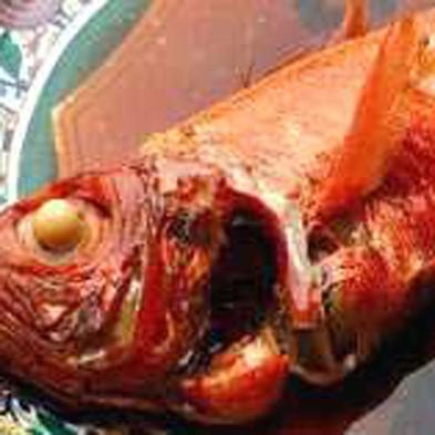 """【味自慢】地元稲取産の""""高級金目鯛の姿煮""""とお造りは""""厳選された地魚の舟盛り""""を堪能(*^_^*)"""