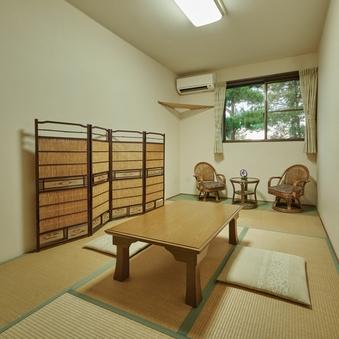 和室6畳 + 縁付 − 2人用 【最大3名まで予約可】