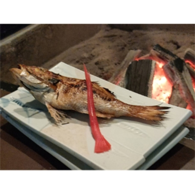 【数限定】焼き魚がのどぐろ!!! 囲炉裏端に座って全品焼き立てあっつアツ