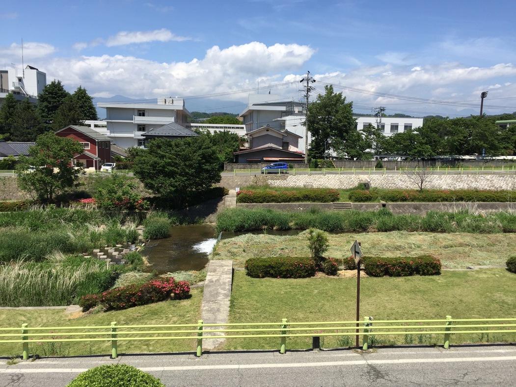 旅館からの風景